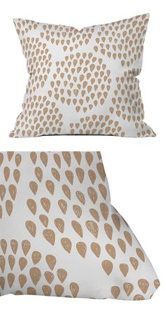 If you've been looking for that perfect fit for your patio ensemble, you've just found it. Made from woven polyester fabric, this throw pillow is excellent for indoor and outdoor use. All you need is a...  Find the Taupe Droplets Outdoor Throw Pillow, as seen in the Bohemian Outdoor Living Boutique Collection at http://dotandbo.com/collections/bohemian-outdoor-living-boutique?utm_source=pinterest&utm_medium=organic&db_sku=119605