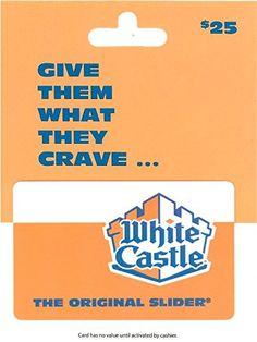 White Castle Gift Card ... https://www.amazon.com/dp/B00WROYVVQ/ref=cm_sw_r_pi_dp_x_P.ArybSW96DR9