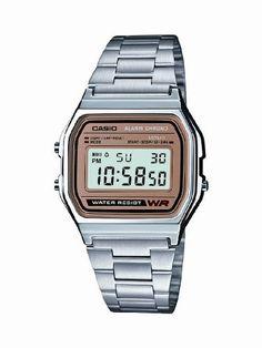 4e95b941a73c Casio Men s A158WEA-9CF Casual Classic Digital Bracelet Watch Casio.   16.57. Alarm.