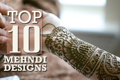 Both Henna and Mehndi are one as the same. It is an old tradition and highly popular in India as an important decorative aspect of women during joyfull occasions like wedding, Eid, Diwali and in any festive occasions. These henna designs enhance women's hands look. The origin of Henna or Mehndi art is said to be from North Africa. However, now it has become India's strongest tradition. There are different types of mehndi designs. Some of them are below