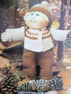 Cabbage patch doll pattern free patterns cabbage patch dolls xavier roberts presents cabbage patch kids crocheted outfits amazon xavier dt1010fo