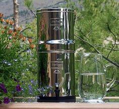 Big Berkey Water Filter-2 Black Filters and 2 Pf-2 Fluoride Filters