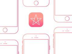 """다음 @Behance 프로젝트 확인: """"RateMe, app from Black Mirror."""" https://www.behance.net/gallery/46725383/RateMe-app-from-Black-Mirror"""