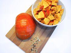 Hokaido pumpkin soup Pumpkin Oil, Beta Carotene, Superfood, Sweet Potato, Vitamins, Soup, Fruit, Vegetables, Cooking