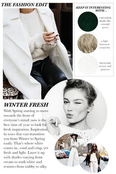 The Fashion Edit: Winter White | STYLE'N