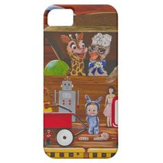 """""""Toys in the Attic"""" iPhone 5 Cover"""
