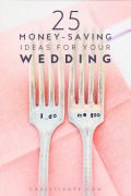 25 amazing #wedding-ideas to help you actually save money on your wedding day!...when I married my lovely wife, we got creative and had a wedding and reception (thanks to some awesome friends and family) that we loved for just a couple thousand dollars. But back then - before the days of Pinterest - we had to actually be creative. ;) Now-a-days you can spend an hour on Pinterest and find more great frugal wedding ideas than you will ever be able to use. Sure if you want to spend 5-figures on…