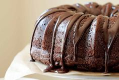 This chocolate sour cream Bundt cake recipe is a rich, dense, chocolate-y, and so easy. It's all made without a mixer.