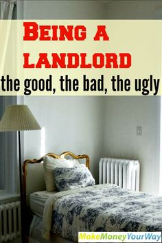 Being a landlord, the good, the bad, the ugly #investment #landlord #realestate