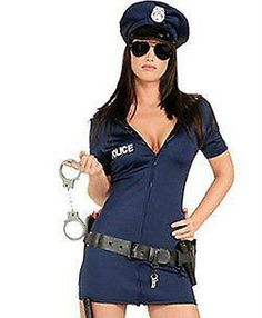 Ladies #police cop halloween costume #fancy dress sexy #outfit woman officer size,  View more on the LINK: 	http://www.zeppy.io/product/gb/2/191133299692/