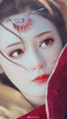 38 ideas chinese art girl asian beauty drawings for 2019 Anime Art, Art Painting, Beauty Drawings, Fantasy Art, Beautiful Fantasy Art, Art, Chinese Art, Fantasy Girl, Digital Art Girl