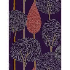 Buy Harlequin Silhouette Wallpaper, Cassis 60119 Online at johnlewis.com