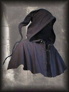 Medieval Cowl Long Pointed Hood