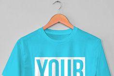 Hanging T-Shirt Free Mockup