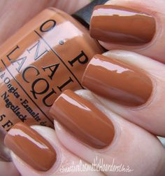 : The OPI San Francisco Collection for Fall /… Obsessive Cosmetic Hoarders Unite !: The OPI Great Nails, Fabulous Nails, Love Nails, Tan Nails, Hair And Nails, Eye Makeup, Gel Nail Colors, Winter Nails, Spring Nails