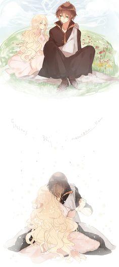 Fairy Tail Mavis and Zerif