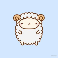 Cute Sheep I tag @chibi_mike #IHEARTRB Damn this is cute!