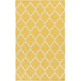 Found it at Wayfair - Vogue Yellow Geometric Claire Area Rug