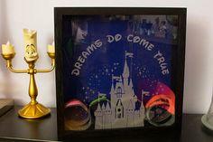 Disney Inspired Magicband Shadow box by BadWolfNJ on Etsy
