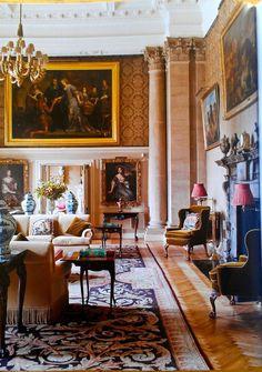 Easton Neston, near Towcester, Northamptonshire, England, Baroque, c. 1690's -  Lady Henrietta Spencer Churchill, American Friends of British Art, Palm Beach - Homa Nasab for MuseumViews - 15