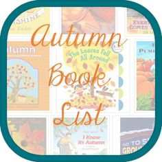 Big list of books perfect for your Autumn book collection!