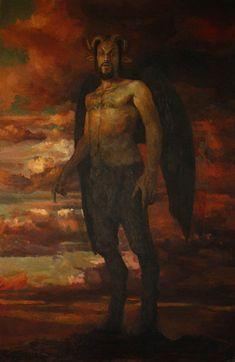 Lucifer - Opera di Parmjeet Johal, 2017.