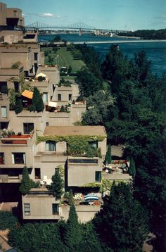 AD Classics: Habitat 67,© (2001) Canadian Architecture Collection, McGill…