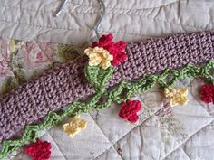 a little 'how to' for the crochet hangers free pattern