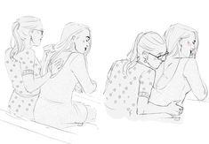 Supergirl 2015, Supergirl And Flash, Melisa Benoist, Lesbian Art, Katie Mcgrath, Love Is Free, Gay Couple, Hero Arts, Kara