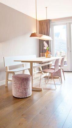 Afbeeldingsresultaat voor eetbank ovale tafel | Woonkamer ...