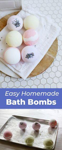 Homemade Bath Bombs – A Beautiful Mess