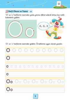 1. Sınıf Konu Anlatım SES FASİKÜLLERİ Pre Writing, Learning Colors, Pre School, Learn English, Preschool Activities, Worksheets, Language, Study, Letters