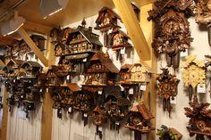 Cuckoo Clocks - Lucerne, Switzerland Cuckoo Clocks, Lucerne Switzerland, Clock Shop, A Moment In Time, Cant Wait, Austria, Keys, Germany, Watches