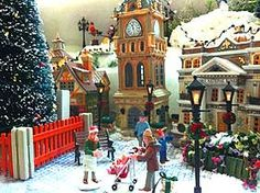 christmas village layout ideas | Christmas Village Displays