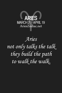 Aries Facts at AriesZodiac.net