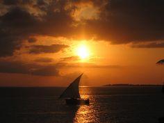Zanzibar Sunset by rahimadatia, via Flickr