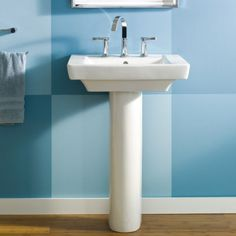 View Boulevard 24 Inch Pedestal Sink Alternate View