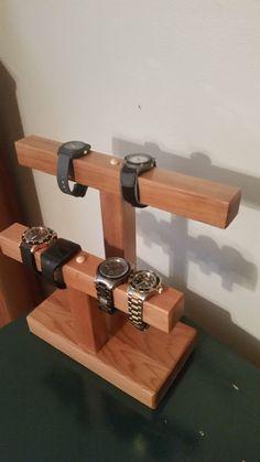 Jewelry Display Stand Watch Display Stand Bracelet by GNFStore #woodworkingideas