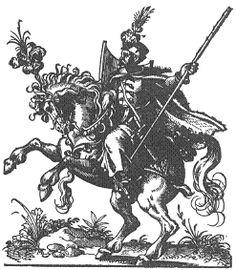 Figure 8 - Hungarian hussar 1578 Jost Amman