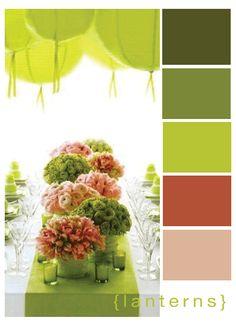 Wedding Porn: Using Green to Pick your Wedding's Theme