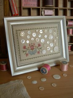 Lovely! Plus check out this blogger's craft room.