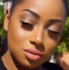Makeup for black women