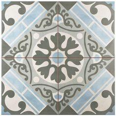 Merola Arte White Porcelain Tile From Home Depot Mimics