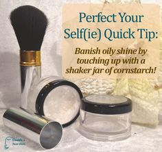 I use this on top of my makeup! Really helps with the shine.