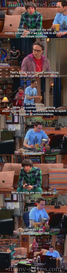 Google it - The big bang theory