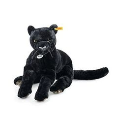 "Steiff 084072 ""Nero Dangling Panther"" Soft Toy"