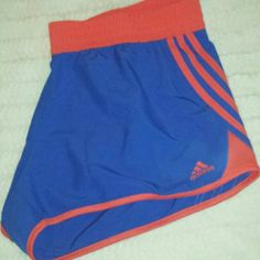 New with tag Adidas Curve Shorts XL NWT Adidas Curve shorts Vivblue/Bahcor or blue and orange colors. Soccer Outfits, Adidas Shorts, Fashion Design, Fashion Tips, Fashion Trends, Adidas Women, Orange Color, Colors