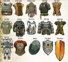 RPG Female Character Portraits — D&D Edition Armor: Planar Handbook, Sands… Armadura Medieval, Fantasy Armor, Fantasy Weapons, Medieval Armor, Medieval Fantasy, Dnd Characters, Fantasy Characters, Armor Concept, Concept Art