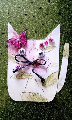 Summerland (part of series Tails From Under The Moon Shaped Cheese) - artwork by Rita Dabrowicz Under The Moon, Moon Shapes, How To Make Paper, Collage, Cheese, Cat, Artwork, Shop, Handmade