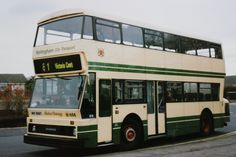 Nottingham City Transport - Leyland Atlantean (fleet number with experimental Northern Counties bodywork Nottingham City, New Bus, Good Old Times, Busses, Chevrolet Trucks, Coaches, Taxi, Planes, Trains